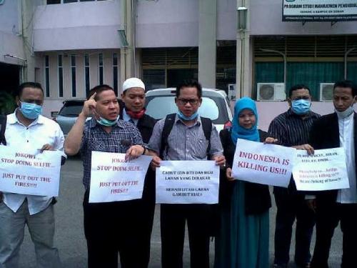 Pemerintah Lamban, Para Dosen Muda Unri Surati Organisasi Internasional, Hendri Mahardi: Jokowi Jangan Asyik Selfie