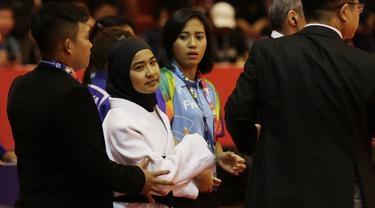 Tolak Lepas Jilbab, Pejudo Miftahul Jannah Batal Berlaga di Asian Para Games