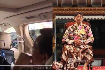 Sultan Yogyakarta Memilih Menepi Saat Konvoi Kampanye Bermotor Melintas