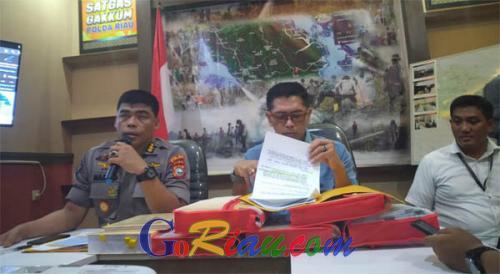 Kasus Karhutla, Polda Riau Tahan Pejabat Fungsional PT SSS