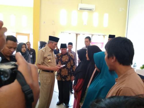 179 Mustahiq Terima Zakat Sebesar Rp311 Juta dari Baznas Pekanbaru