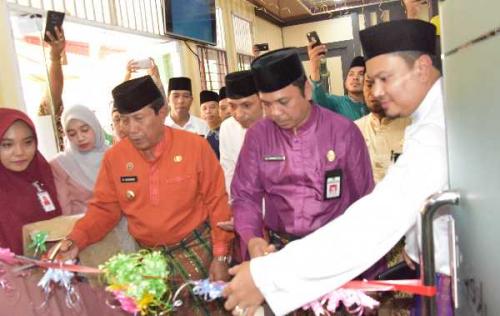 Kini, Warga Rohul Bisa Lakukan Setoran Haji di Kantor Kas Bank Riau Kepri Syariah