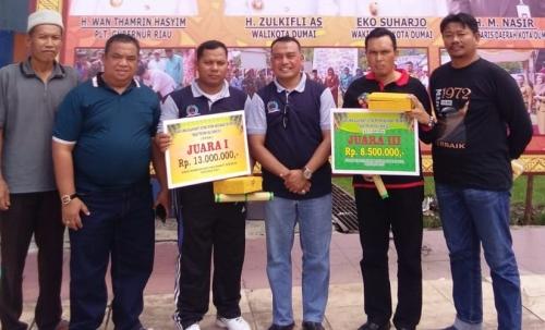 Siak Boyong 2 Juara pada Peringatan BBGRM Tingkat Provinsi Riau di Dumai
