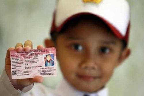 Anak-anak di Kepulauan Meranti Sudah Bisa Miliki Kartu Identitas