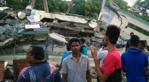 2 Guru Meninggal Akibat Gempa di Pidie Jaya
