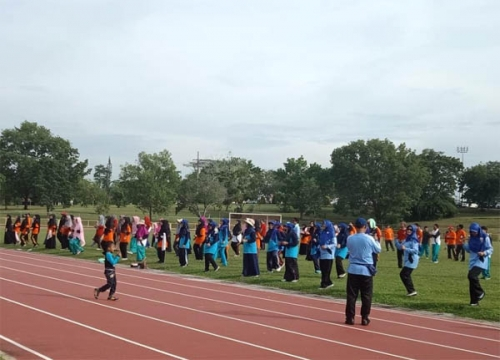 Vakum 8 Tahun, Olahraga Seharian untuk Guru Cendana Duri Kembali Diaktifkan