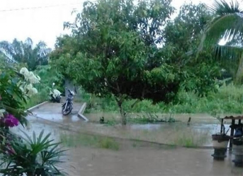 Sungai Indragiri Terus Meluap, Warga Diminta Tingkatkan Kewaspadaan akan Banjir Susulan