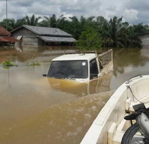 Banjir Rendam 5 Desa di Gunung Sahilan Kampar, Ini Desa yang Terparah