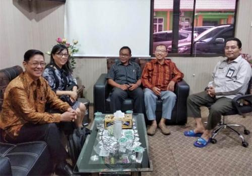 Jelang Musda, Panitia Pasda IV Walubi Audiensi dengan Kakanwil Kemenang Riau
