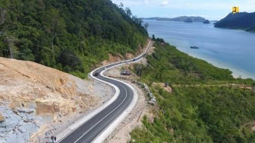 Jalan Akses ke Kawasan Wisata Mandeh Rampung, Waktu Tempuh dari Padang Hanya 1 Jam