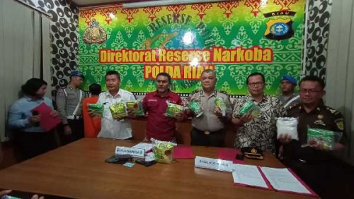 Kurir Narkoba 10 Kilogram Sabu Tewas Ditembak Petugas Ditnarkoba Polda Riau di Tenayan Raya
