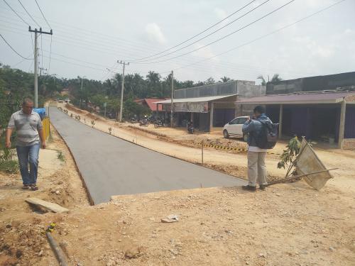 Tahun Ini, Pembangunan Jalan Badak Pekanbaru Dilanjutkan