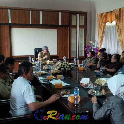 Bupati Kuansing Terima Kunjungan DPRD Sawahlunto, Berikut Isi Pembicaraannya!