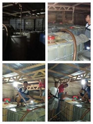 Gerebek Gudang di Kawasan Rasau Kuning, Polres Siak Sita 60 Ton Bensin dan Solar