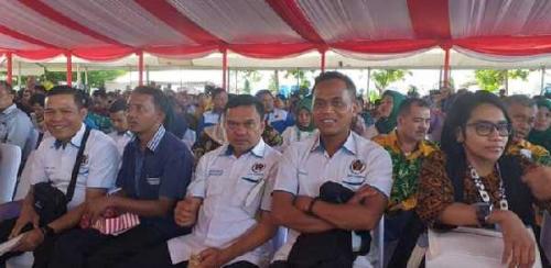 Pengurus PWI Kampar Hadiri Peringatan Hari Pers Nasional 2020 di Banjarmasin