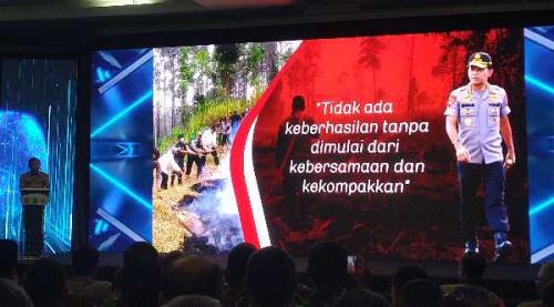 Resmikan Aplikasi Dashboard Lancang Kuning Nusantara, Kapolri: Saya Respect, Ada Jabatan Terbaik untuk Kapolda Riau