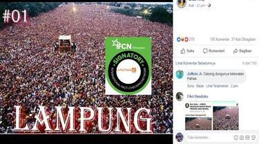 Beredar Foto Lautan Manusia yang Diklaim Massa Kampanye Jokowi di Lampung, Ternyata . . . .
