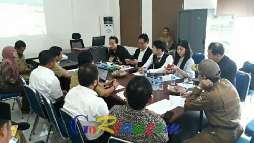 Jajaki Investasi, Investor Korea Tinjau Tekno Park Pelalawan