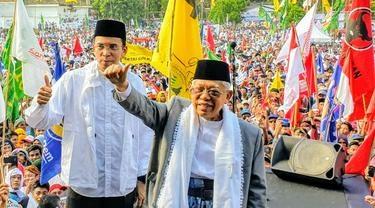 Maruf Amin Yakin Raup Suara 60 Persen di Jakarta, Ini Alasannya