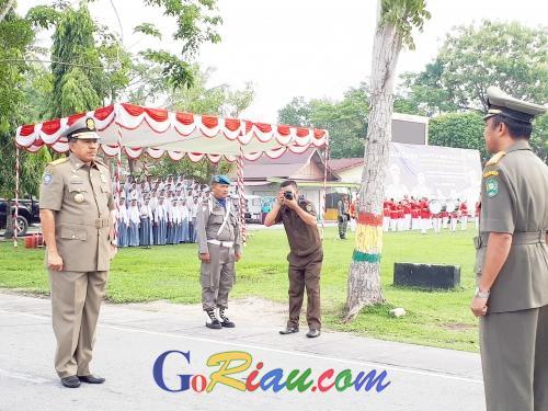 Peringatan HUT ke-69 Satpol PP di Kabupaten Siak Digabung dengan 4 Agenda