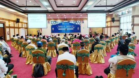 BI Sosialisasikan Belanja Bijak dan Wakaf Uang kepada 150 Mubaligh di Riau