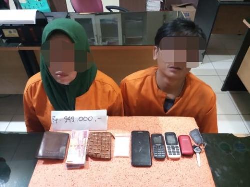 Hendak Transaksi Narkoba, Pasangan Suami Istri Diamankan Polisi di Perumnas Parit III Tembilahan