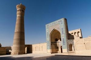 Masjid Memesona dengan Menara Kematian di Kota Kelahiran Imam Bukhari