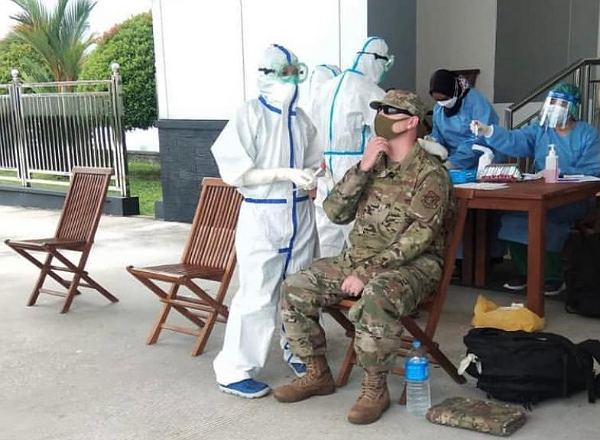 80 Prajurit Amerika Serikat Jalani Isolasi Ketat Sebelum Latihan Bersama TNI AU di Pekanbaru