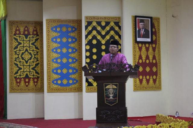 Milad ke-51 LAMR, Datuk Seri Syahril Bicara Soal Pemberdayaan Ekonomi Masyarakat Adat