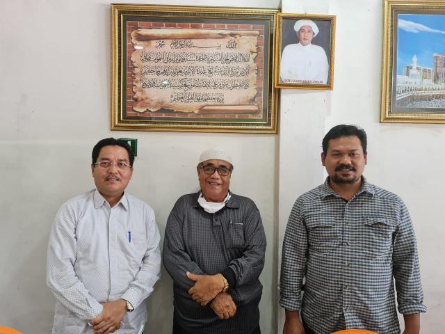 Banyak Hoax Soal Haji, Kakanwil Kemenag Kunjungi Kyai NU, Mahyudin: Keberangkatan Ditunda Bukan Dibatalkan