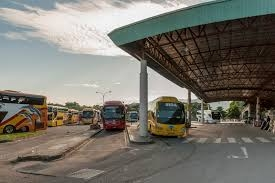 Terminal Bus Dijadikan Tempat Berlindung Bagi Gelandangan