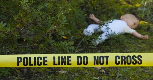 Duh... Pas Lebaran Bayi Dibuang di Tumpukan Sampah, Ditemukan Setelah Jadi Mayat 2 Hari Kemudian