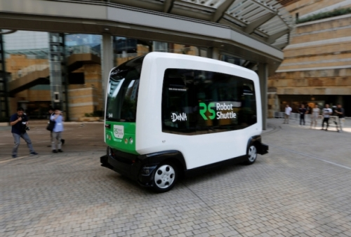 Bawa Penumpang 12 Orang, Bus Bertenaga Listrik Berkecepatan 40 KM Per Jam ini Melaju Tanpa Sopir