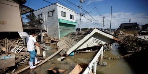 Banjir Porak-porandakan Jepang, 85 Tewas, 58 Hilang dan 2 Juta Warga Mengungsi