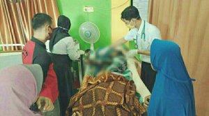 Geger Penemuan Mayat Wanita Muda Terbakar di Pangkalan Lesung Pelalawan