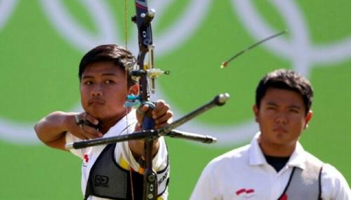 Kejutan Besar, Pemanah Riau Ega Agatha Singkirkan Juara Dunia, Lolos ke 8 Besar Olimpiade 2016