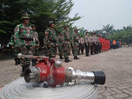 Tidak Ingin Terulang Lagi, Satgas Karhutla di Pulau Rupat Siap Siaga