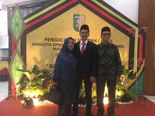 Satria Mandala Putra, Anggota Dewan Termuda Kuansing Periode 2019 - 2024
