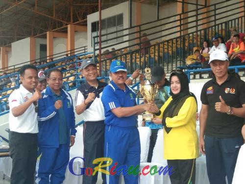 Kecamatan Tampan Raih Juara Umum Porkot Pekanbaru 2019
