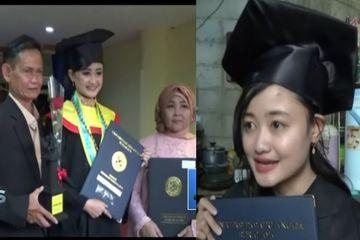 Pengamen Cantik yang Beberapa Kali Diciduk Satpol PP Ini Jadi Lulusan Terbaik Universitas Airlangga, IPK 3,94