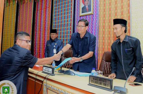 Di Penghujung Masa Jabatan, DPRD Bengkalis Sahkan 4 Perda, 1 Dipending