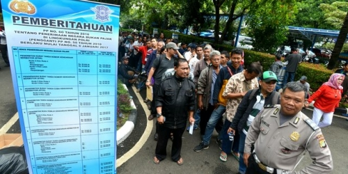 Jokowi: Pelayanan SIM, STNK dan SKCK Harus Sederhana dan Cepat