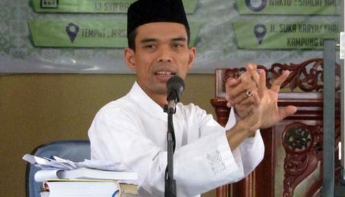 Ustadz Abdul Somad Penuhi Janjinya Isi Tabligh Akbar Malam ini di Bagansiapiapi