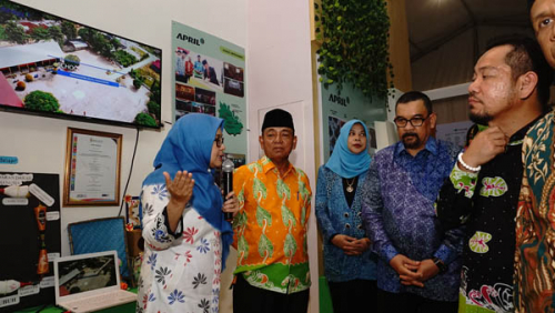 RAPP Paparkan Program School Improvement di Pelalawan Expo 2019