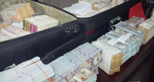 Wow Banyaknya, Lihat Nih... Polisi Amankan 4 Koper Uang Asing Milik Dimas Kanjeng