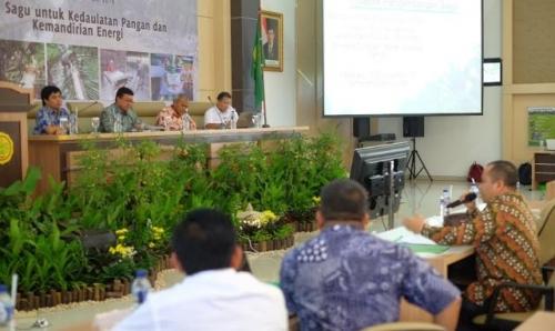 Bupati H Irwan Harap Pemerintah Pusat Kembangkan Industri Hilir Sagu di Kepulauan Meranti