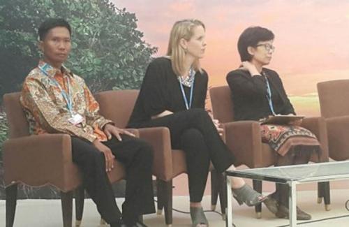 Luar Biasa, Setelah Tebang Sawit, Petani Asal Siak Riau Ini Jadi Pembicara di KTT Perubahan Iklim PBB