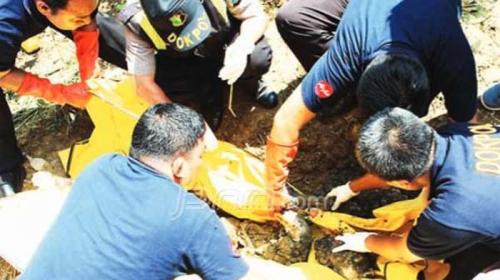 HEBOH... Ada Mayat Bayi Ditemukan Terkubur di Dekat Gedung Sekda