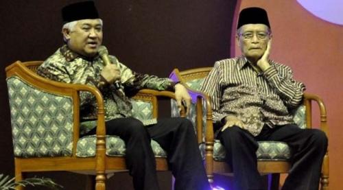 Tak Mau Berdebat dengan Syafii Maarif di Depan Umum, Din Syamsuddin Batal Tampil di ILC