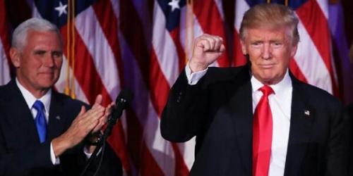 Donald Trump: Saya Bersumpah Menjadi Presiden untuk Seluruh Rakyat AS